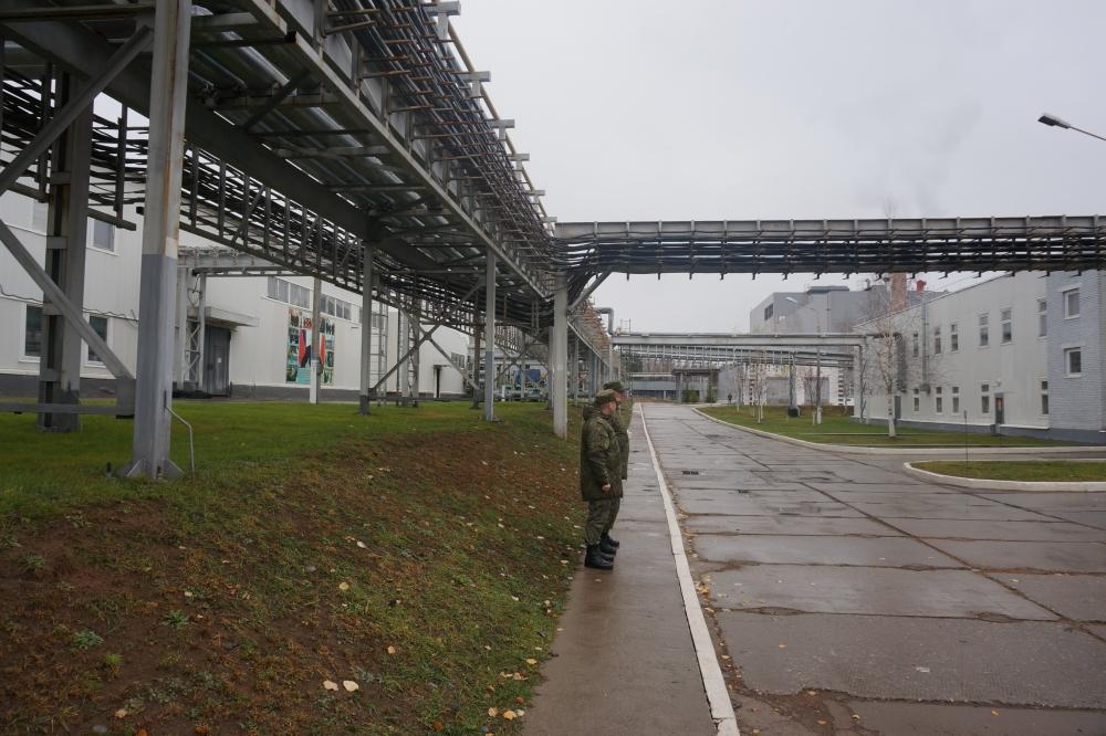 Новое производство обеспечит рабочими местами специалистов, которые работали на заводе по уничтожению химоружия.