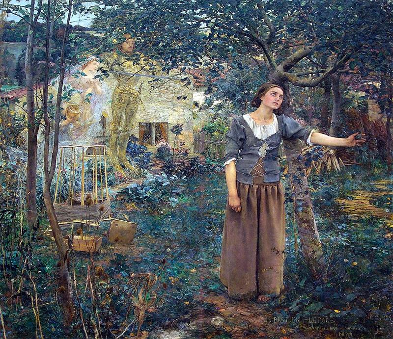 Видение Жанны д Арк (Жюль Бастьен-Лепаж, 1879 год)