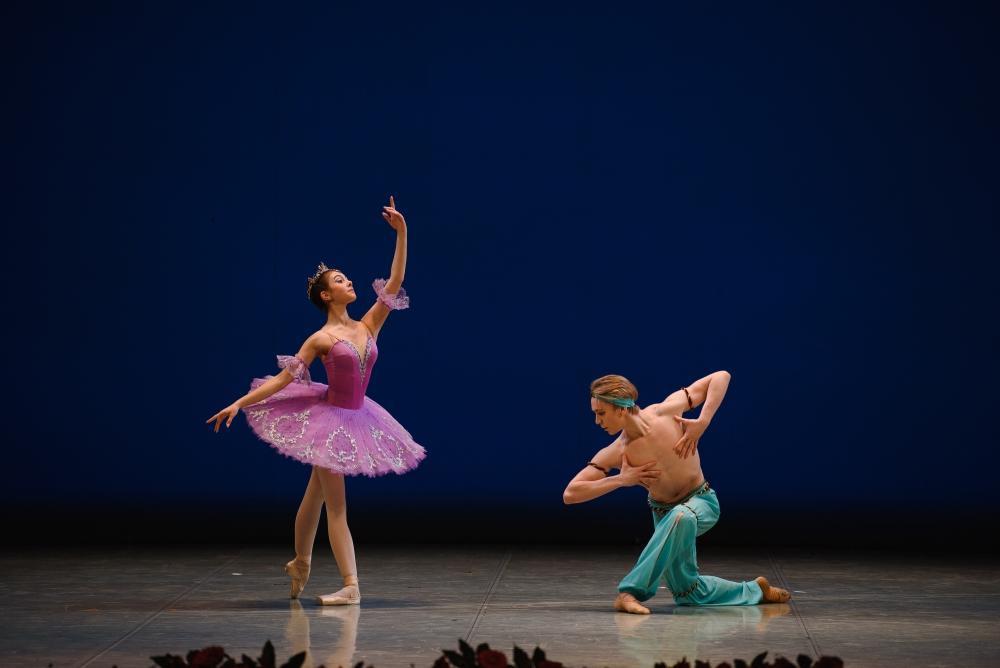 Ульяна Мокшева и Расмус Алгрен. Па-де-де Медоры и Раба из балета «Корсар»