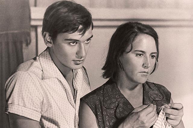 Владимир Тихонов и Нонна Мордюкова в фильме «Русское поле», 1971 год