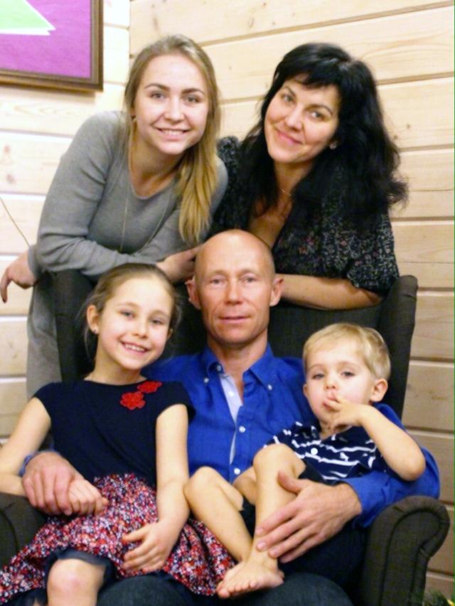 Василий Мосин - многодетный отец.