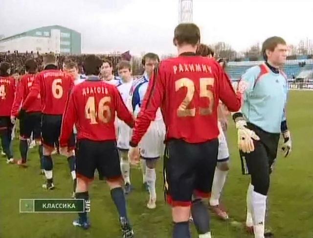 После матча против московского ЦСКА Сергей Правкин вошел в символическую сборную тура.