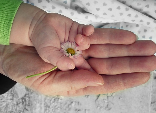 руки, бабушка и ребенок, мать и ребенок, силуэт