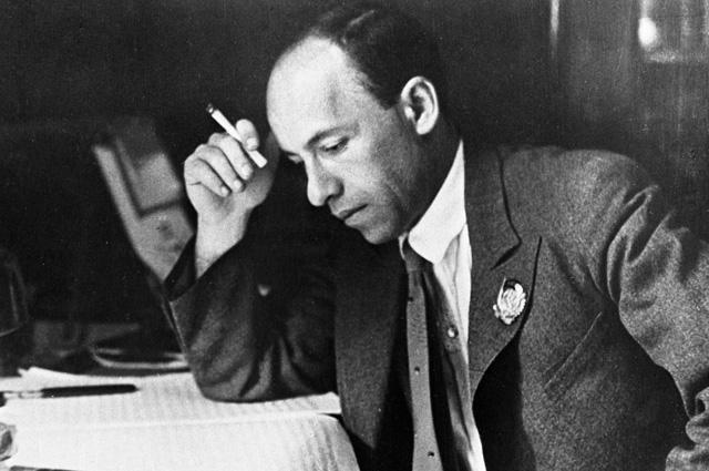Композитор Исаак Осипович Дунаевский, 1939 год.