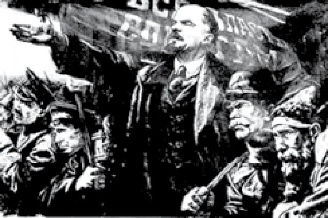 Большевики оказались чуть ли не единственными, кто призывал к выходу из войны.