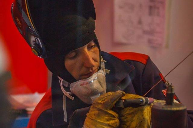 Сварщик из Волгодонска считается лучшими в своей профессии в России.