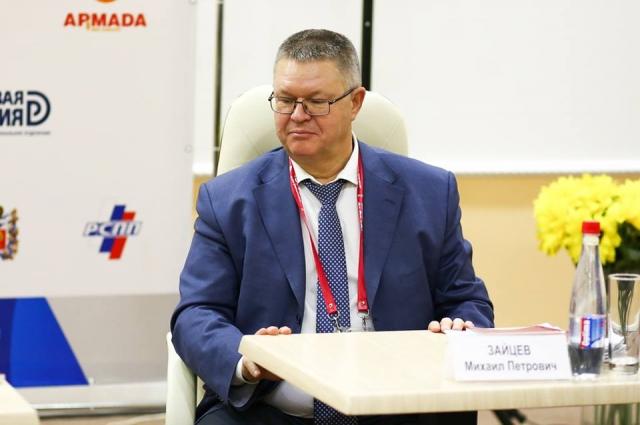 Министр экономики УР М.П. Зайцев. Фото: Центр поддержки предпринимательства УР