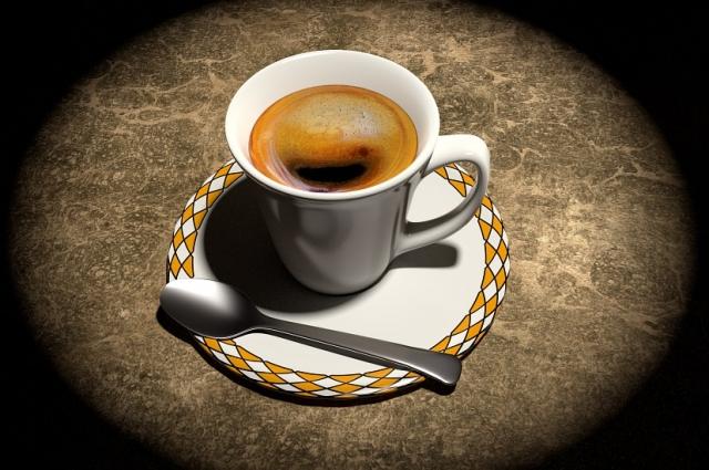 Бодрящий кофе по утрам.