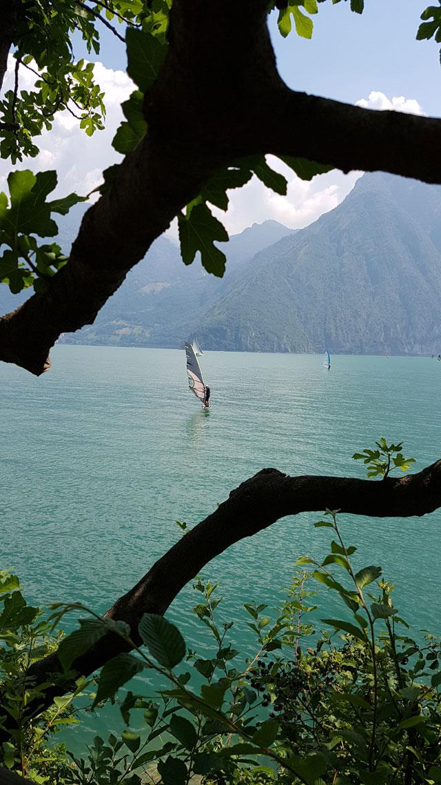 Озеро Изео.