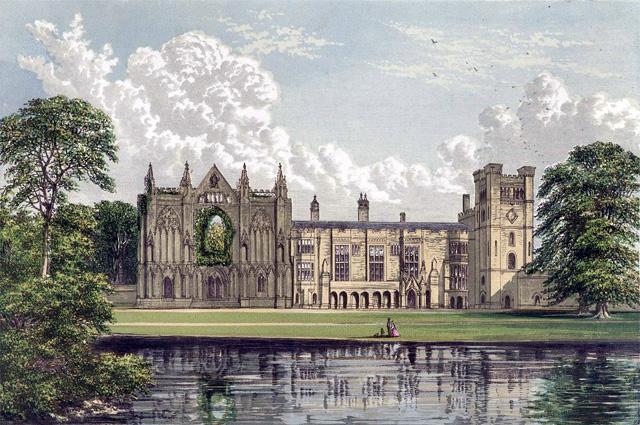Ньюстедское аббатство  — родовое владение Байронов.