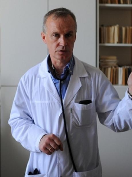 Врач общей практики Итомлинской сельской больницы Ржевского района Сергей Вишняков.