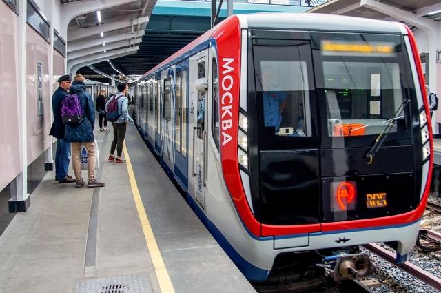 Поезд серии «Москва».