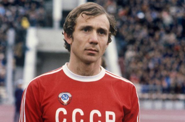 Олег Романцев - капитан Олимпийской сборной команды СССР по футболу. 1980 г.