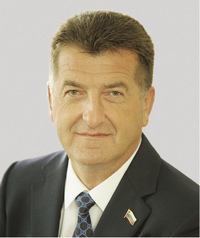 Глава города Брянска Александр Хлиманков