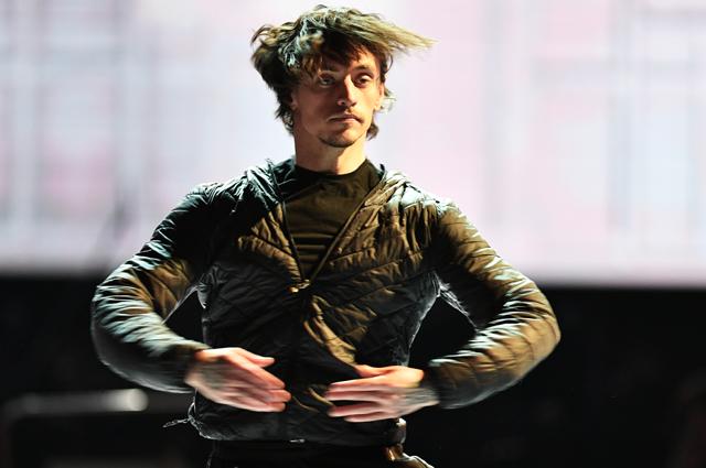 Сергей Полунин во время репетиции в Большом театре в Москве. Март 2019 г.