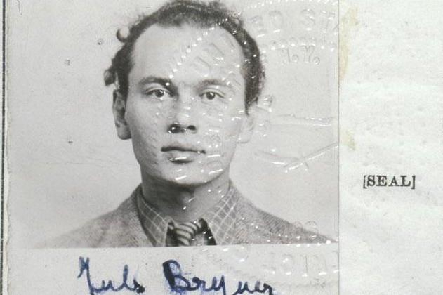 Фотография и печать из декларации о намерениях Юла Бриннера.