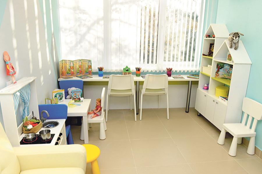 Новая детская стоматология мало похожа на больницу.