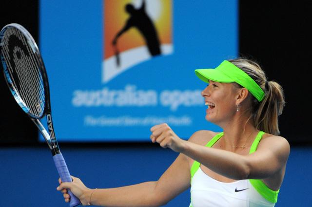 Мария Шарапова на турнире Australian Open