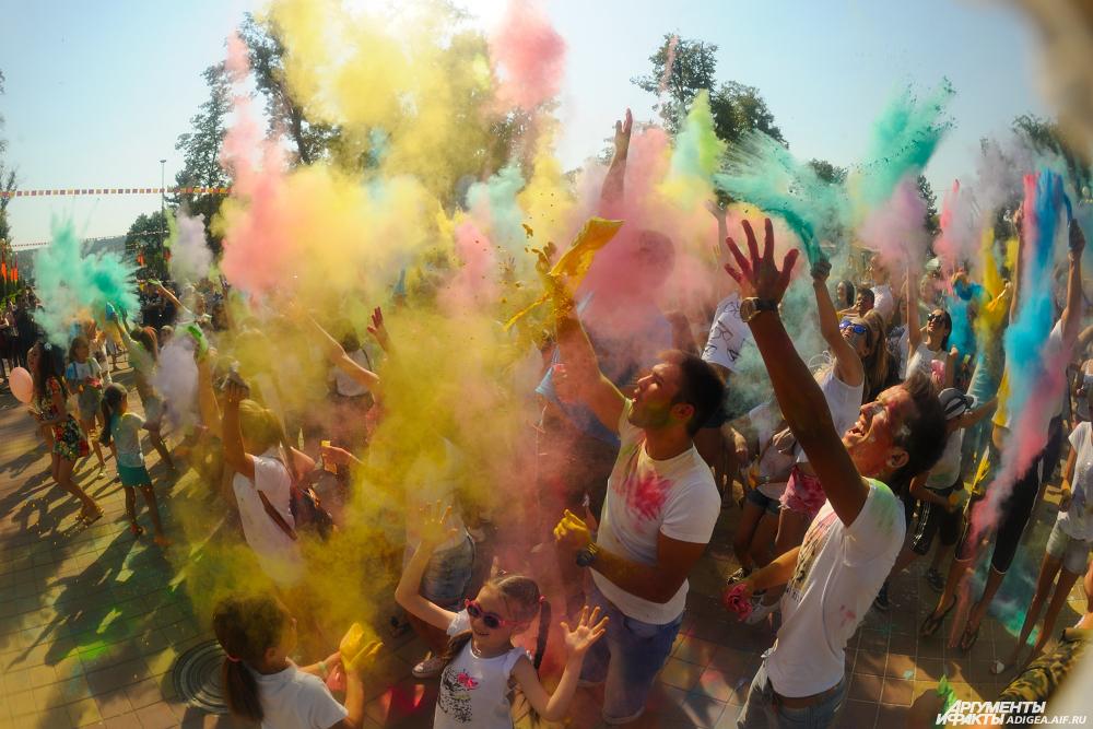 Фестиваль красок Холи, Майкоп