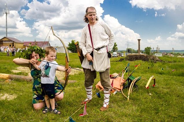 Традиции предков живут и сегодня.