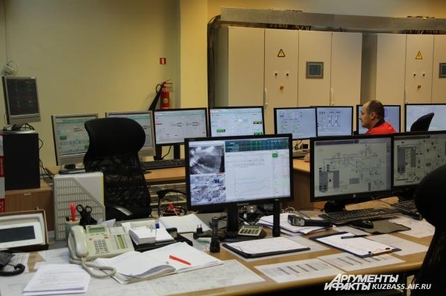 Современные станции, топливом для которых становится древесная щепа, управляются дистанционно.