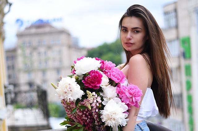 Цветы реклама