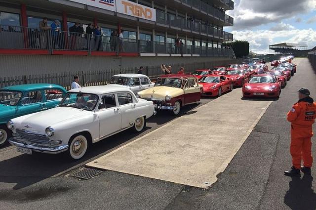 Ретроавтомобиль принял участие в знаменитом фестивале в Великобритании.