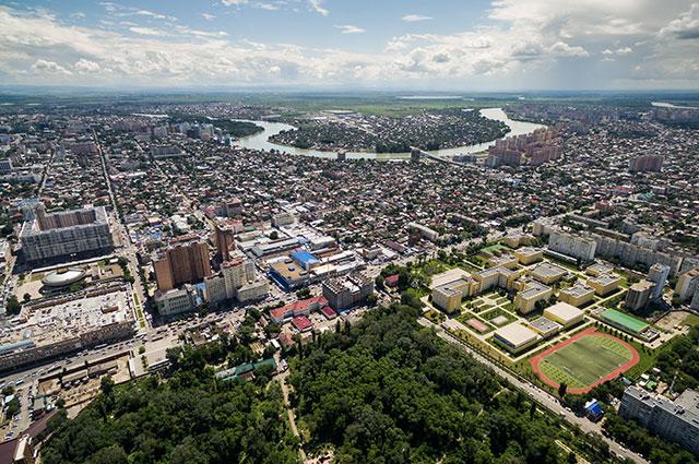 Город Краснодар.