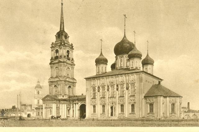 Успенский собор Тульского кремля. Фото начала ХХ в.