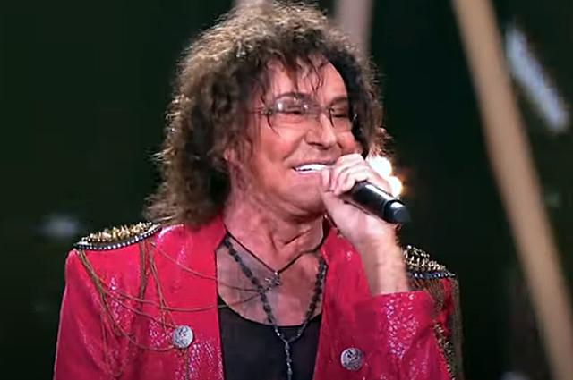 Валерий Леонтьев на«Песне года».