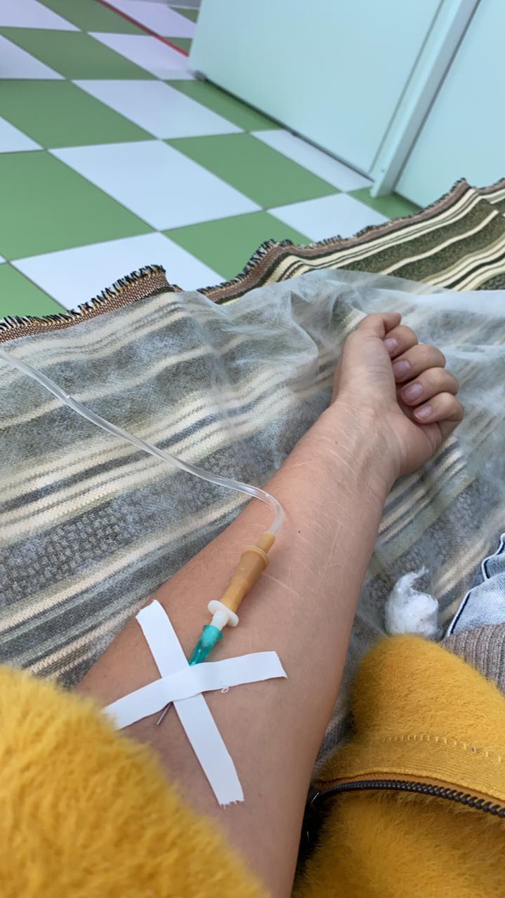 После перенесенного коронавируса Алена Чуркина дважды лежала в больнице.