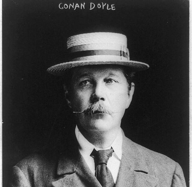 Артур Конан Дойл. 1913 год
