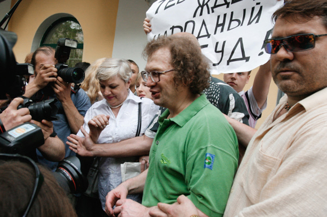 Основатель финансовой пирамиды МММ Сергей Мавроди, осужденный за обман вкладчиков, вышел на свободу