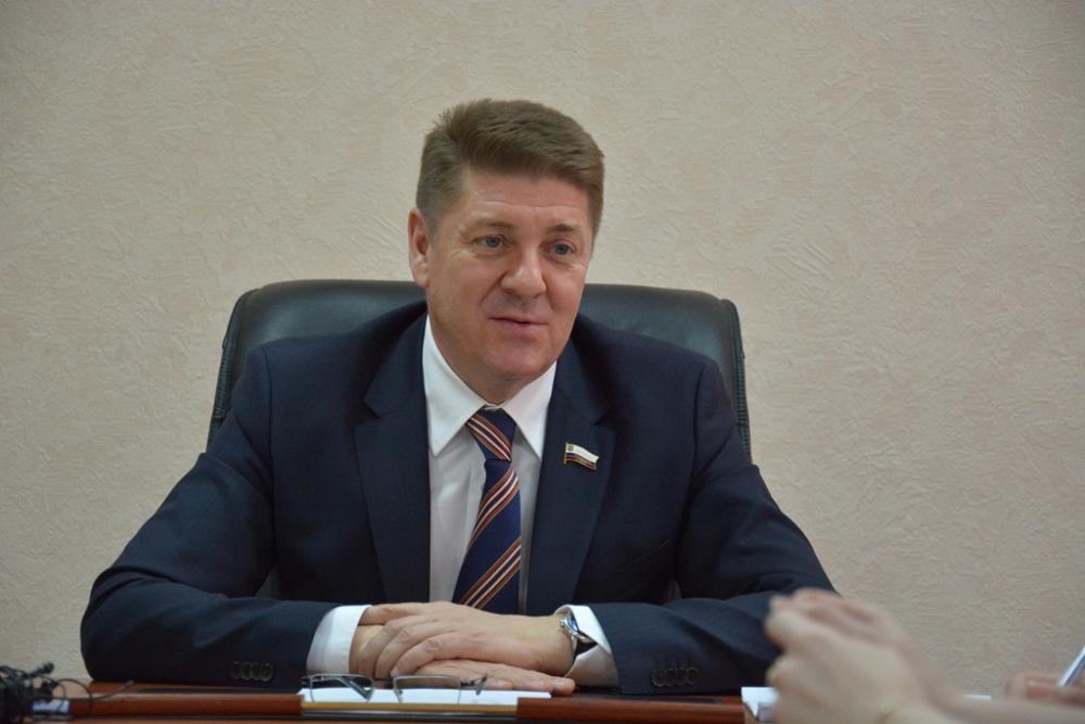 Председатель городского Совета Андрей Шевченко.