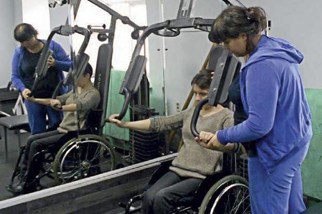 Большинство людей с ограниченными возможностями находят себя в спорте.