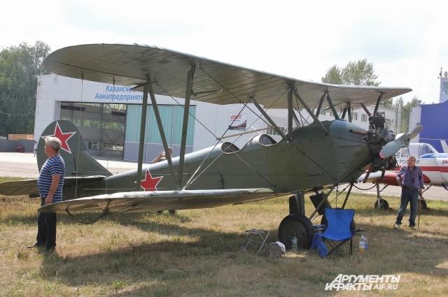 Легендарный По-2.