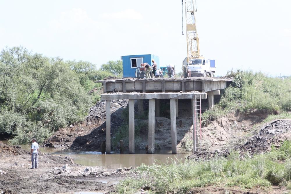На новой трассе появятся мостовые переходы.