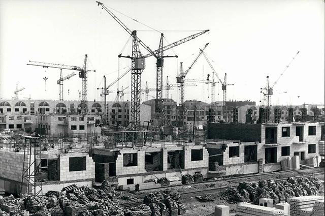 Восстановление жилья в Ленинакане, 1989 г.
