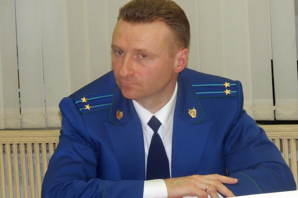 Начальник отдела прокуратуры Рязанской области Роман Астахов.