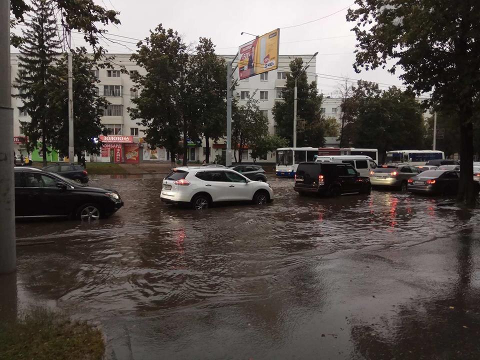 потоп в Уфе