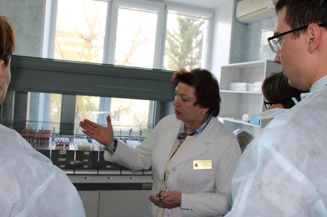Участники конференции высоко оценили лабораторию ОКДЦ.