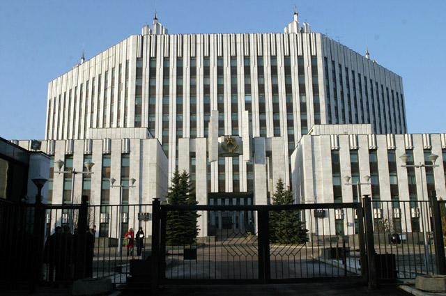 Здание Военной Академии Генерального штаба Вооруженных Сил РФ.