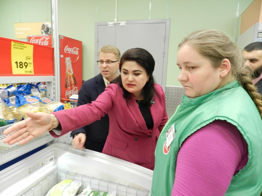 Гульнур Кульсарина - директору Светлане Хаертдиновой: