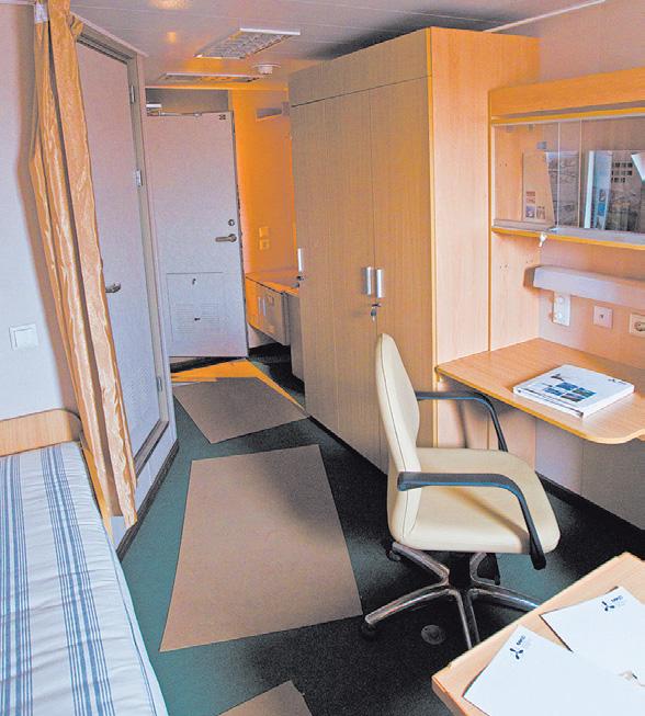 Так выглядят комнаты, где живут члены команды.