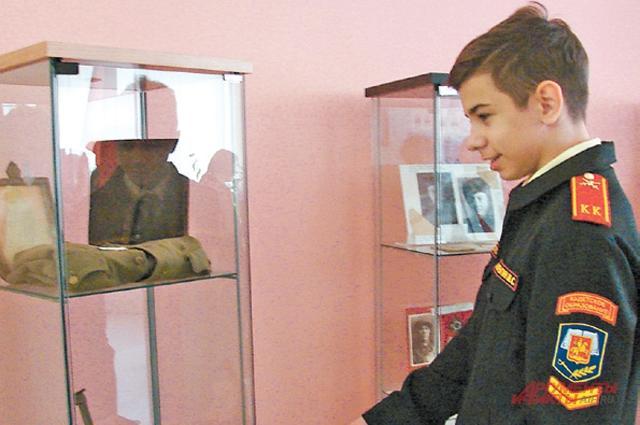 В музее боевой славы часто проходят уроки истории  и мужества. Сегодня создание подобных музеев поддерживает программа «Мой район».
