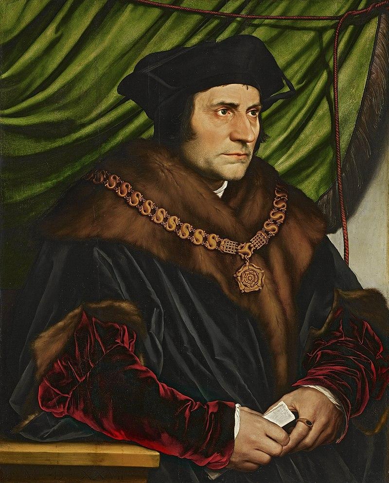Ганс Гольбейн Младший. Портрет Томаса Мора.
