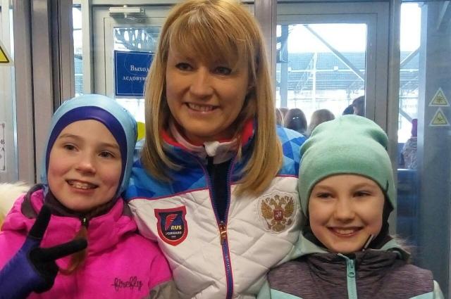 Под эгидой Светланы Журовой в Санкт-Петербурге прошли детские соревнования по конькобежному спорту.