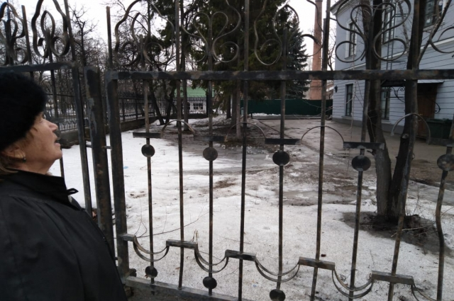 Инесса Белова не понимает, как можно застраивать этот место.