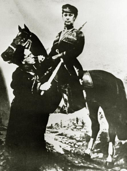 Самуил Маршак и Алексей Толстой. 1935 год