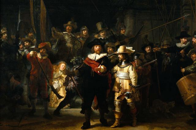 «Ночной дозор», Рембрандт. 1642 год.